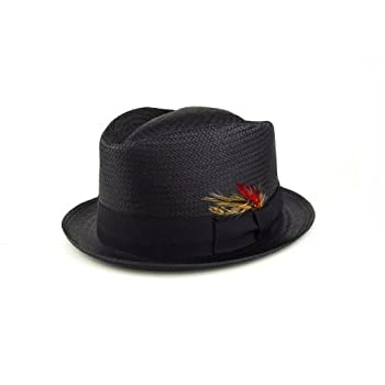 Straw diamond hat