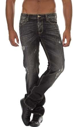 Jeans 611 Spool Noir Japan Rags W40 Homme