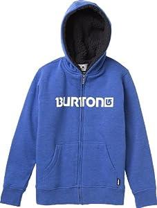 Burton Jungen Pullover Boys Premium Burrtch Fullzip, Heather Cyanide, 140, 11183100435