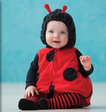 [Carter's Baby Halloween Costume Lady Bug 3 Pieces NEW (3-6 months)] (Baby Ladybug Halloween Costumes)