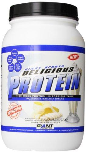 Giant Sports Delicious Protein Banana Shake, 2 Pound