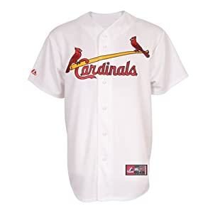 St. Louis Cardinals Majestic MLB Home Replica Jersey (White) by Majestic