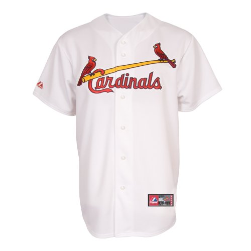MLB St. Louis Cardinals Home Replica Jersey, White, Large at Amazon.com