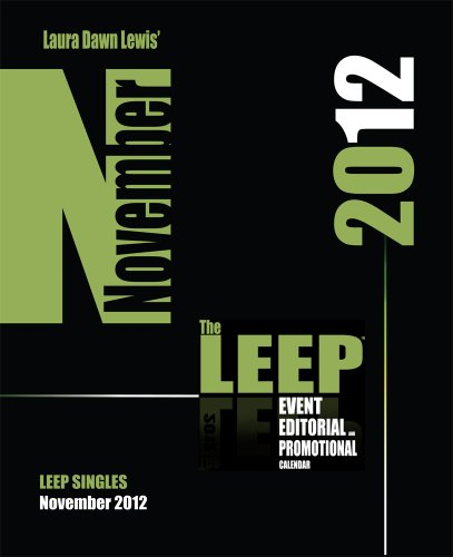 November 2012 Event, Editorial and Promotional Calendar, LEEP Single (Event, Editorial and Promotional Calendar, LEEP Singles)
