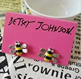 Betsey Johnson Little Cute Bee Stud Earrings