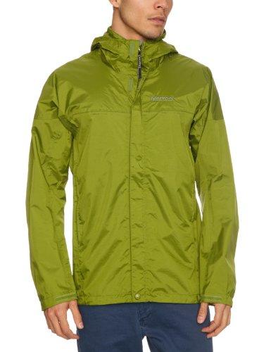 Marmot Men's Precip Waterproof Jacket - Forest, Medium