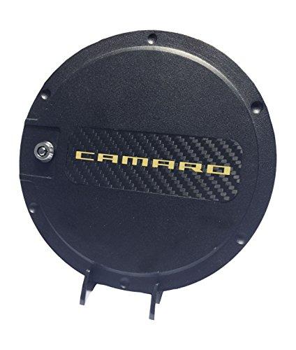 Defenderworx 901492 Black Fuel Door with Yellow Camaro Logo (Defenderworx Camaro compare prices)