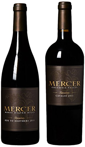 Mercer Estates Horse Heaven Hills Reserve Red Blends Mixed Pack, 2 X 750 Ml