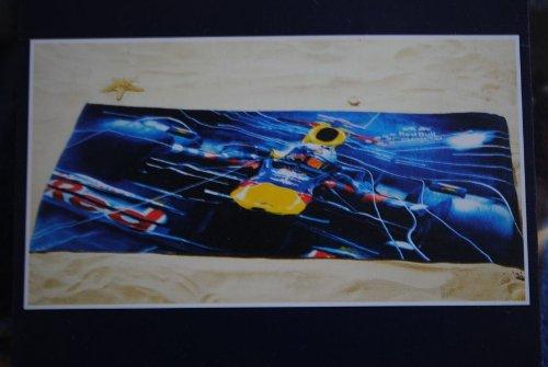 red Bull Racing Sebastian Vettel F1 F 1 Formel 1 Velour Strandtuch Badetuch Handtuch Saunatuch Junge Auto