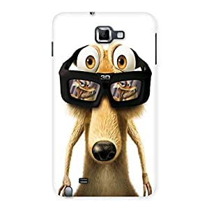 AJAYENETRPRISES Fuuny Sid With Gogals Back Case Cover for Galaxy Note