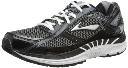 Brooks Mens Dyad 7 Running Shoes 1101211D172 Black/Silver/Pavement/White 7 UK, 41 EU, 8 US Regular