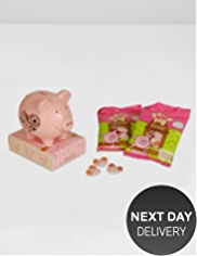 Pale Pink Percy Piggy Bank