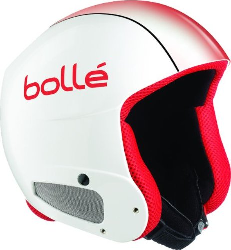 Bollé Helm Profile, shiny white red fade, LARGE (60cm), 30496