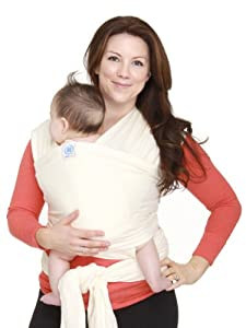 Moby Wrap Original 100% Cotton Baby Carrier, Natural