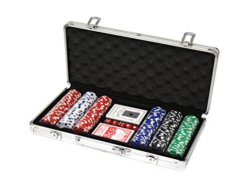 MH161145 - Professionelles Poker-Set, schwarz