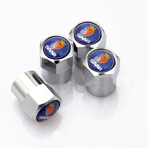 saab-chrome-wheel-valve-dust-caps