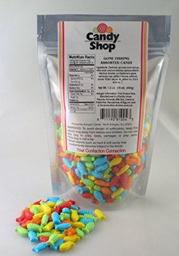 Gone Fishing Assorted Candy - 1 Lb (Gone Fishing Candy compare prices)