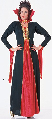 Rubies Halloween Adult Gothic Vampiress Costume Red Black Plus Extra Large