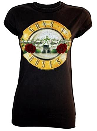 amplified vintage damen t shirt guns n roses drum m. Black Bedroom Furniture Sets. Home Design Ideas
