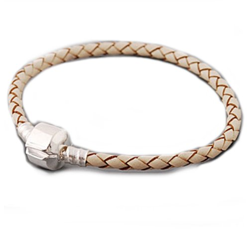 High Quality Real Leather Bracelet Champagne