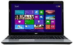 Acer Aspire E1 15.6-inch Laptop (Black/Silver) - (Intel Pentium B960 2.2GHz, 4GB RAM, 500GB HDD, Integrated Graphics, Windows 8 64-bit)