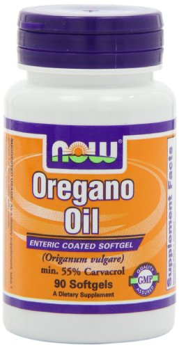 NOW Foods Oregano Oil Enteric, 90 Softgels