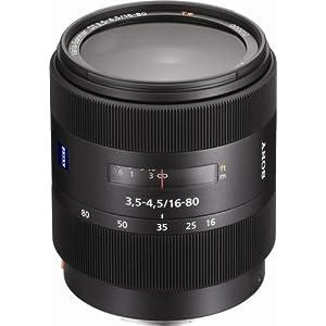 Sony SAL-1680Z 16-80mm f/3.5-4.5 Carl Zeiss Vario-Sonnar T* DT Autofocus Lens