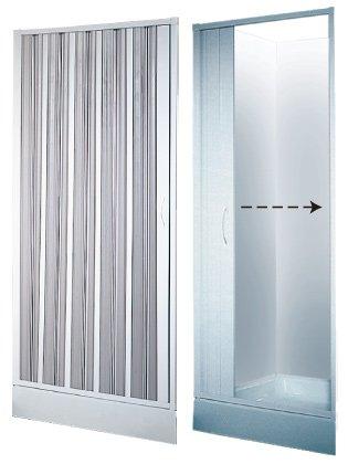 Ihre individuelle Maß Duschtür Duschabtrennung Dusche Duschfalttür Wave 80