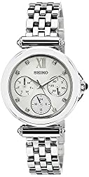 Seiko Analog White Dial Womens Watch - SKY701P1