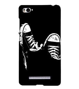 MakeMyCase black shoes case For xiaomi Redmi MI4I