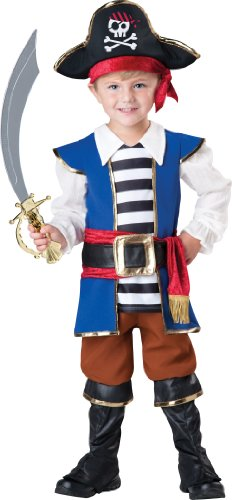 Incharacter Baby Boy'S Pirate Boy, Blue/Red, 4T front-920098