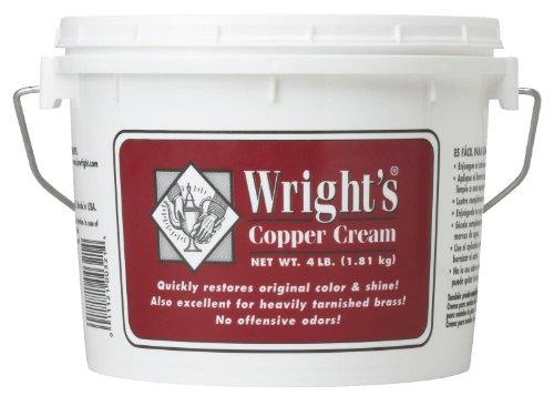 Wright's Copper Cream, 4 Lb Tub (Wrights Brass Polish compare prices)