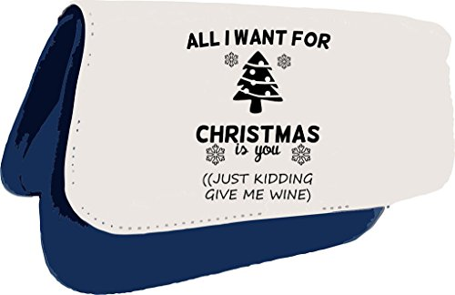 all-i-want-for-christmas-is-you-just-kidding-give-me-wein-cheeky-weihnachts-clutch-oder-federmappe-e