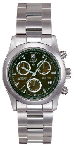 Men's Swiss Military Hanowa Freedom Stainless Steel Chronograph Watch