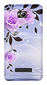 TrilMil Printed Designer Mobile Case Back Cover For Micromax Canvas Spark 3 Q385