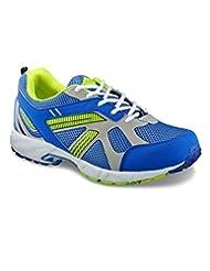 Yepme Men's Blue & Green Synthetic Sports Shoes