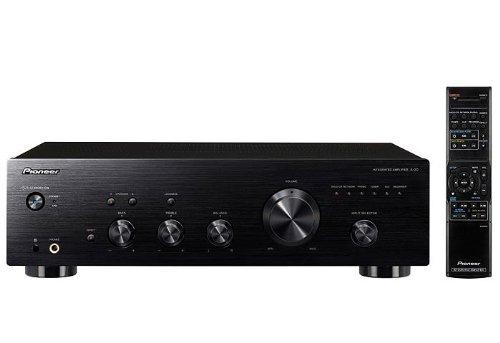 Pioneer A-20-K Amplificatore Stereo 50 W x 2/4 Ohm, Colore Nero