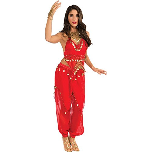 Red Belly Dancer Adult Costume