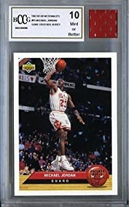 1992 Upper Deck #P5 Michael Jordan with Piece of Authentic Michael Jordan Chicago... by Upper Deck