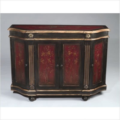 Picture of AA Importing Sideboard in Red/Black (B003UQKSVM) (Sideboards)