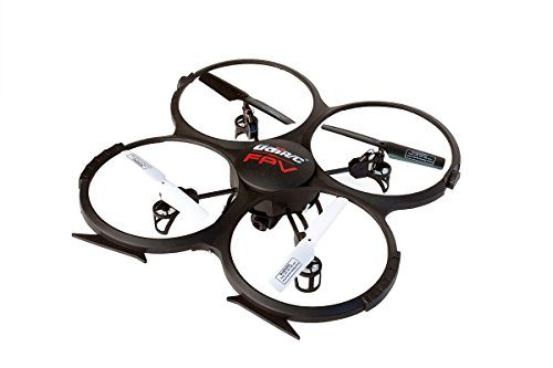 UDIU818FPV Quadcopter Drone with First Person View Featuring 720P HD Camera