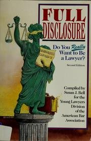 Peterson's Full Disclosure: Do You Really Want to Be a Lawyer? PDF