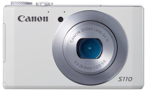 Canon デジタルカメラ PowerShot S110(ホワイト) 約1210万画素 F2.0 光学5倍ズーム PSS110(WH)