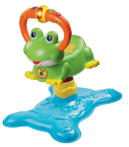 VTech Count and Colors Bouncing Frog Toy (Frustration Free Packaging) (Vtech Toys For 4 Year Olds compare prices)