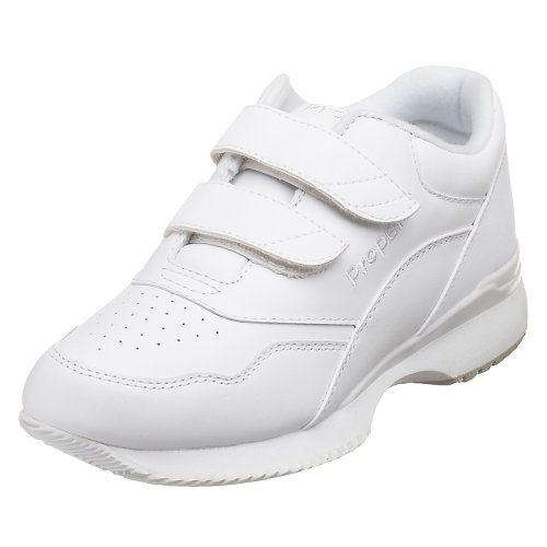 Propet Women's W3902 Tour Walker Velcro Sneaker,White,9.5 XX (US Women's 9.5 EEEE)