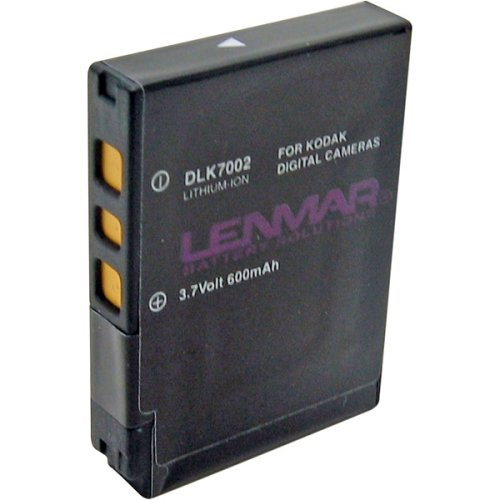 Lenmar DLK7002 Digital Camera Equivalent to the Kodak KLIC-7002 Battery