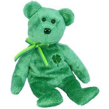 Ty Beanie Babies Dublin - Irish Bear - 1