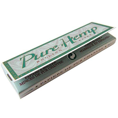 Чистая чистый конопля Одноместный 50 листов бумаги с x 5 штук набор махорки курить оборудование ручным