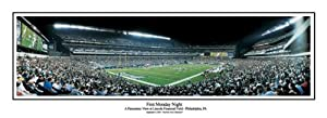NFL Philadelphia Eagles Lincoln Financial Field, First Monday Night Panoramic Print... by NFL