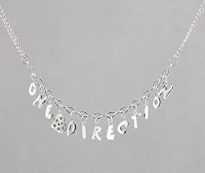 ONE DIRECTION Charm Style Heart Necklace w/Gift Box from Fun Daisy Jewelry